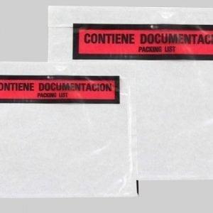 Sobres contiene documentación